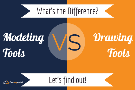 Modeling Vs Drawing Tools