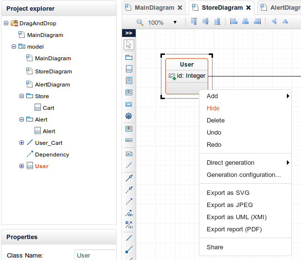 Use Hide rather then Delete in your diagrams
