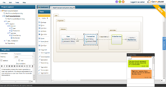 Real time collaborative uml modeling